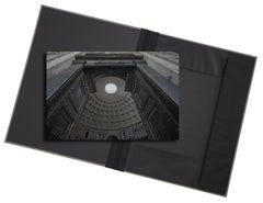 Pantheon (Rome) - photograph in classic archival artwork portfolio gift binder