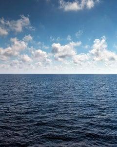 Seascape VI - large format photograph of cloudscape horizon and endless sea