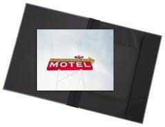 Thunderbird - signed photograph in classicarchival artwork portfolio gift binder