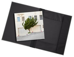 Topiary I - photograph in classic archival artwork portfolio gift binder
