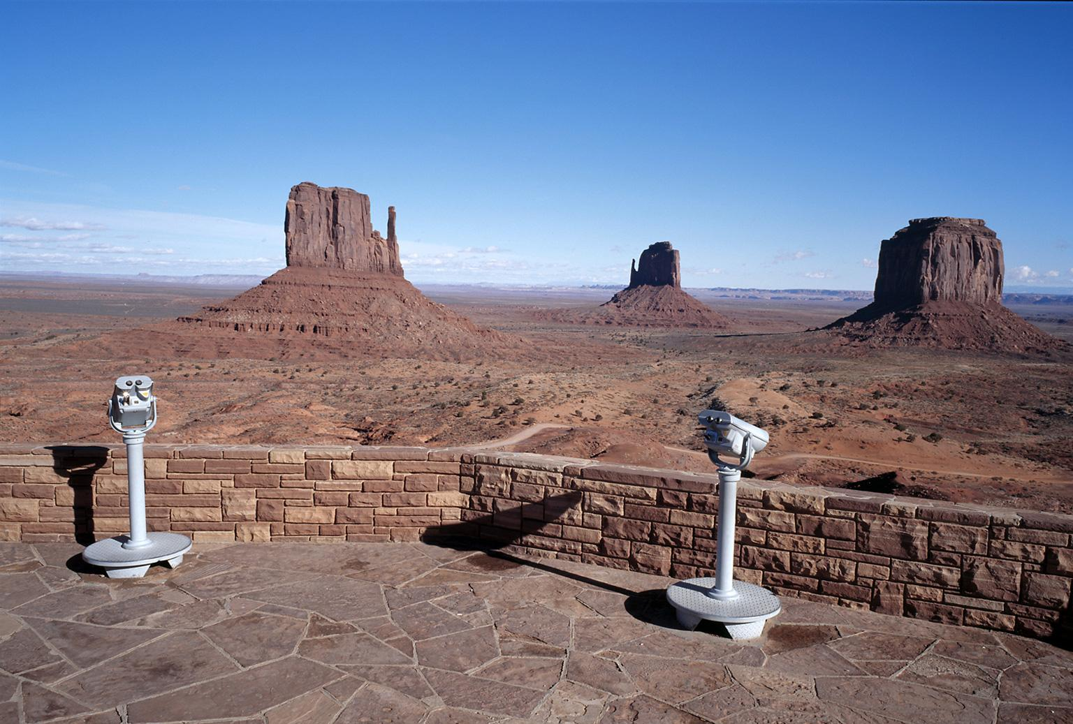 Wild West II - large scale photograph of iconic Navajo American West landscape