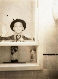"Frank Sinatra ""Selfie"" in the Medicine Cabinet"