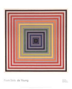 2014 Frank Stella 'Letter on the Blind II' Modernism Multicolor USA Offset Litho