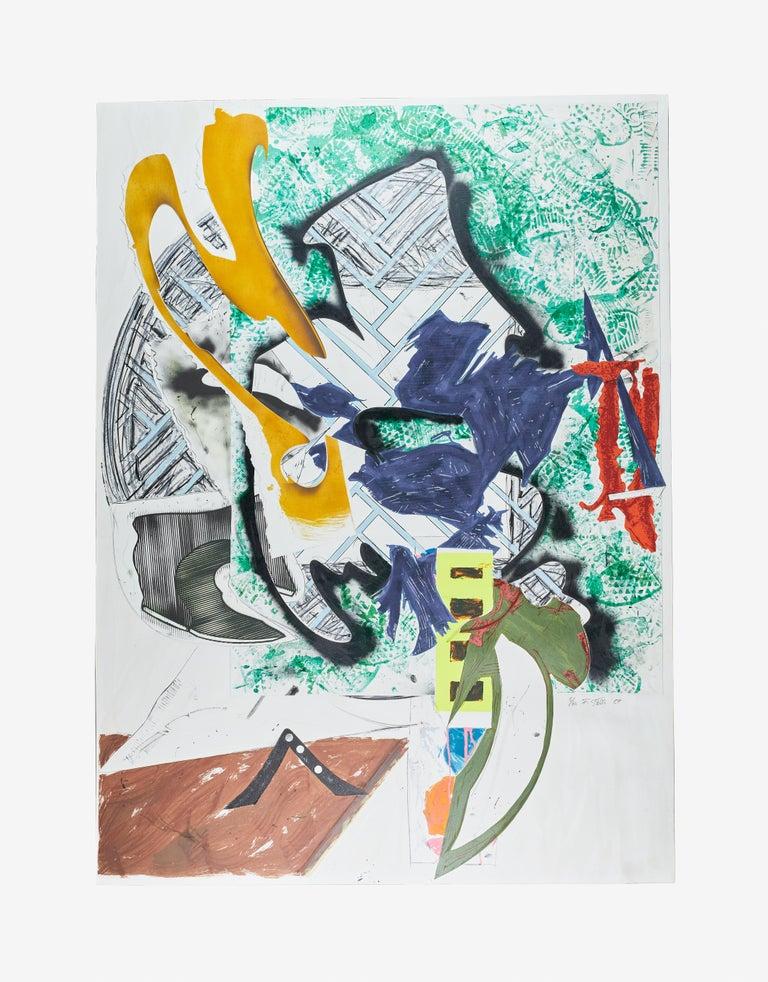 Frank Stella Abstract Print - Ahab's Leg
