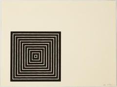Frank Stella 'Angriff' 1971