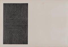 Frank Stella 'Arundel Castle (AXSOM 5)' 1967 Print