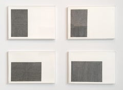 Frank Stella, Black Series I, Suite of 4 lithographs, 1967