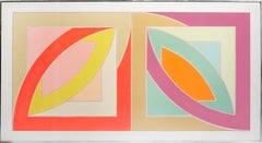 Frank Stella, Bonne Bay, Lithograph, Screen Print, 1971