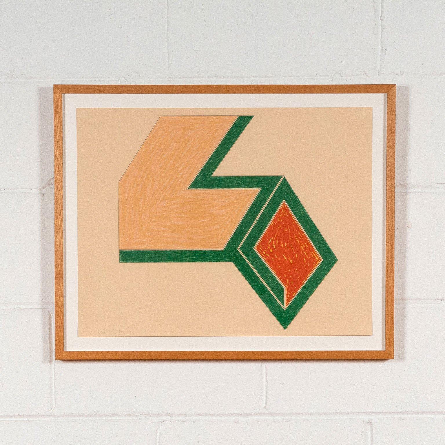 """Frank Stella """"Eccentric Polygon"""""""