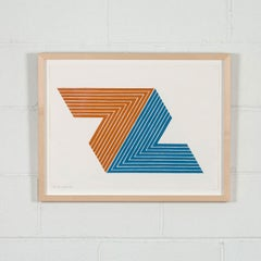 """Frank Stella """"Itata"""""""