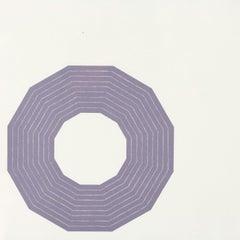 """Frank Stella """"Kay Bearman"""" Lithograph, 1972"""