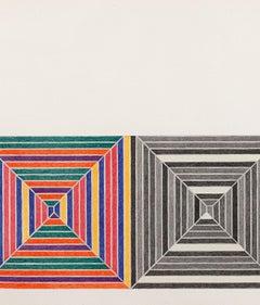 "Frank Stella ""Les Indes Galantes V"" Lithograph, 1973"