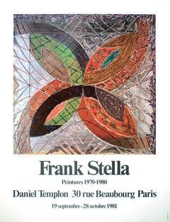 "Frank Stella-Polar Coordinates, Variant I-31.5"" x 23.5""-Poster-1980"