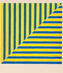 "Frank Stella ""Rabat"" Screenprint, 1964"