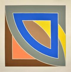 Frank Stella, River of Ponds I, Lithograph, 1971