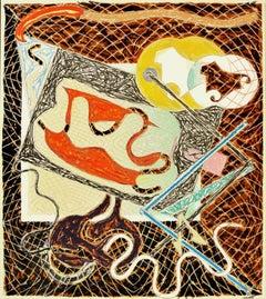 Frank Stella, Shards III, Lithograph, Screen Print, 1982