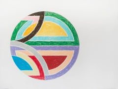 Frank Stella, Sinjerli Varation, Lithograph, Screen Print, 1977