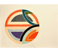 Frank Stella, Sinjerli Variation 1a, Lithograph, Screen Print, 1977