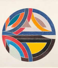 "Frank Stella ""Sinjerli Variation III"", 1977"