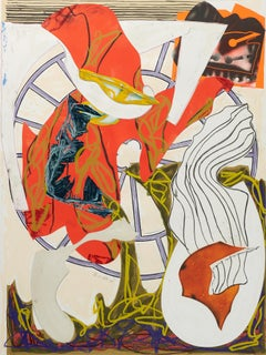 Frank Stella, The Waves: A Squeeze of the Hand, Screen Print, Lithograph, 1988