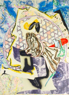 Frank Stella, The Waves: The Great Heidelburgh Tun, Lithograph, 1988