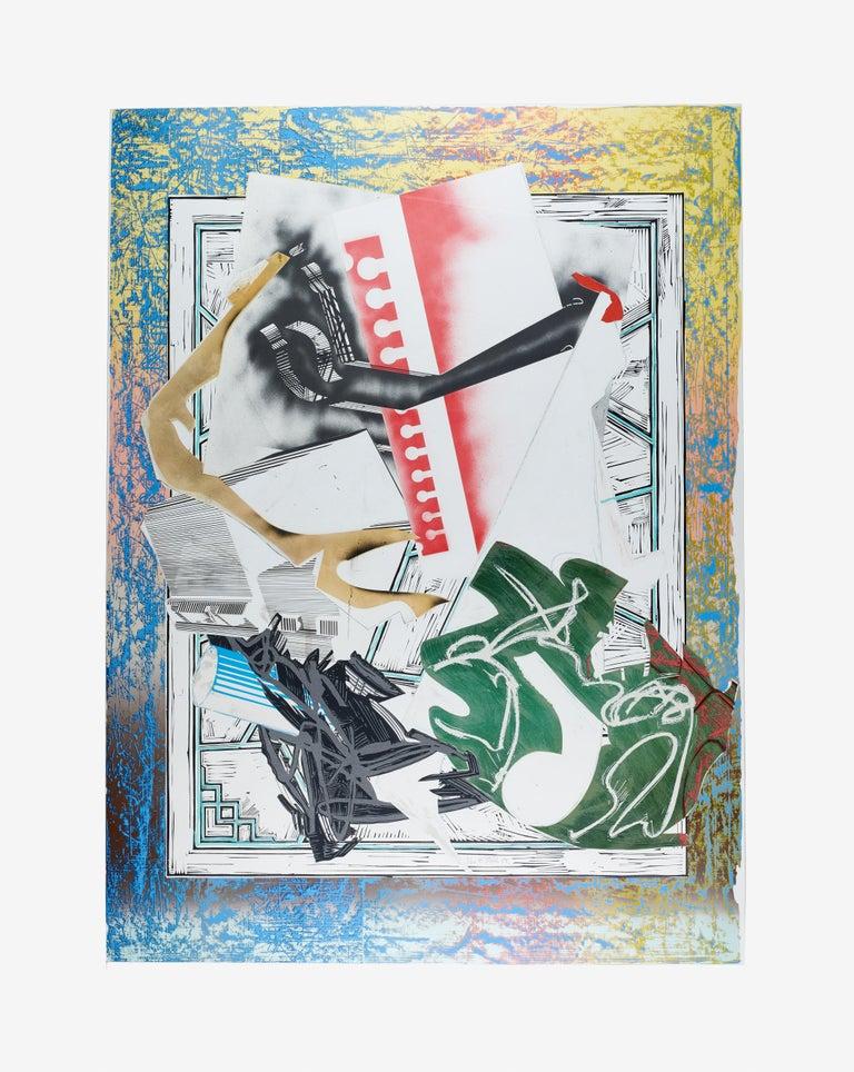 Frank Stella Print - Going Aboard