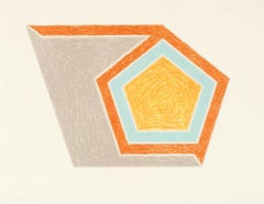 Ossipee (from 'Eccentric Polygons'), Frank Stella