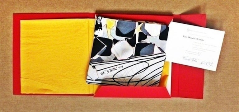 The Whale Watch - Abstract Print by Frank Stella