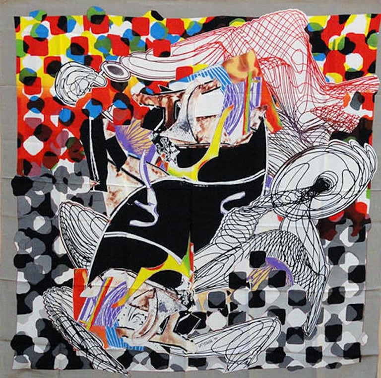 Frank Stella Abstract Print - The Whale Watch