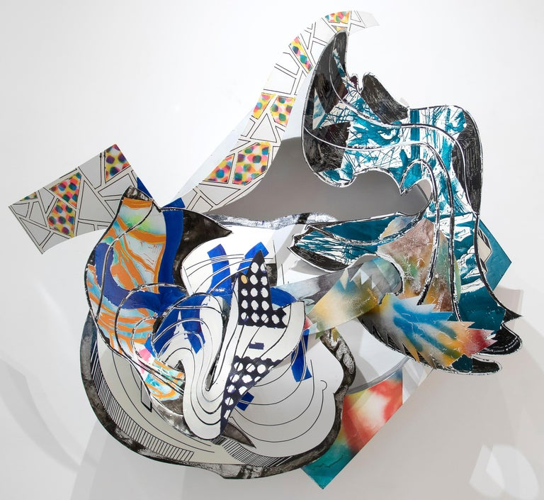 The Musket - Post-War Sculpture by Frank Stella