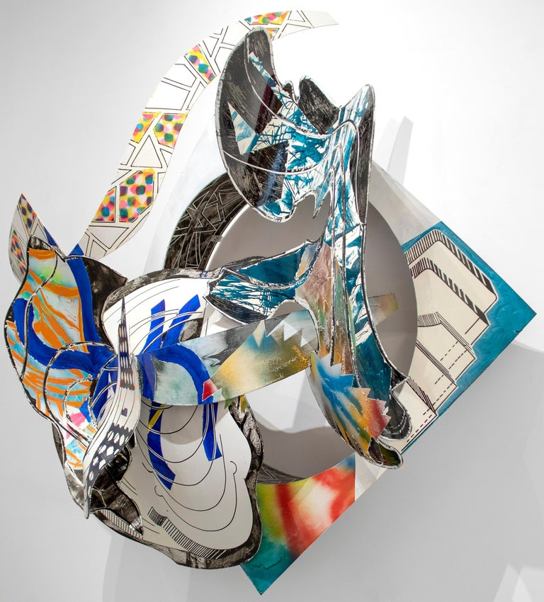 The Musket - Sculpture by Frank Stella