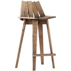 Frank Stool in Natural Finish by Alessandra Baldereschi & Mogg