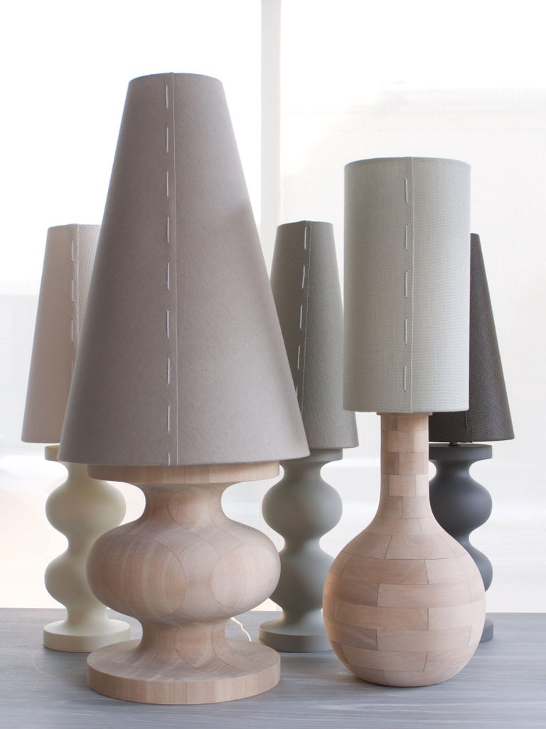 Australian Frank Table Lamp by Wende Reid, 21st Century, Handmade in Australia For Sale