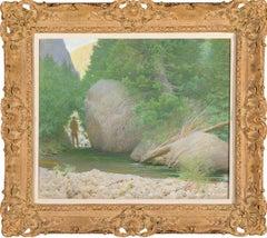 Trout Rock- American Impressionist