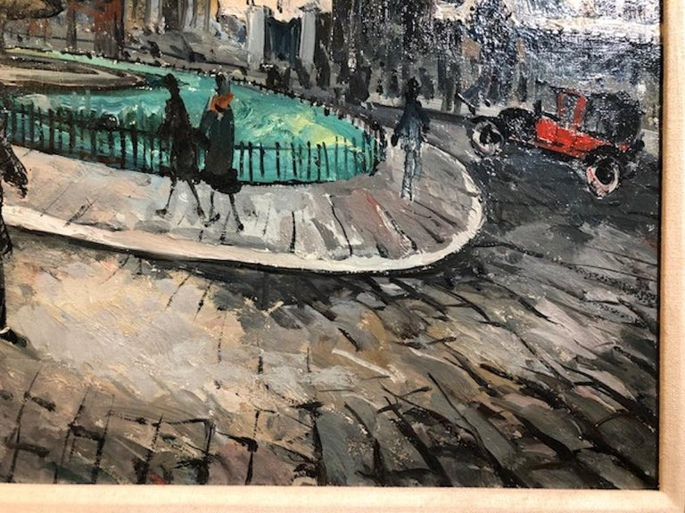 Place Pigalle - Other Art Style Painting by Frank Will