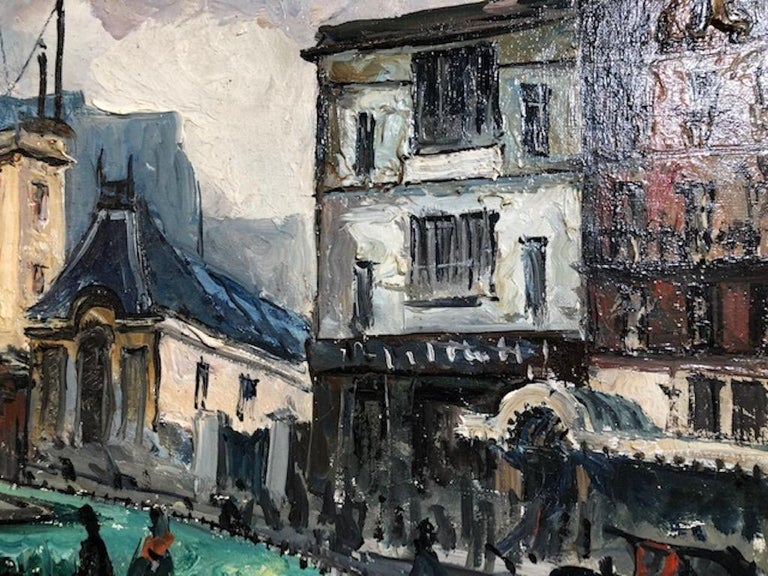 Frank Will, aka Frank William Boggs, was born in 1900, in the Seine-et-Oise region of Northern France to the American painter Frank Myers Boggs and his French wife.  Frank-Will studied painting in the studio of his father in the rue de Clignancourt
