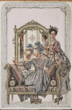The Coiffure, Collier's Magazine Cover
