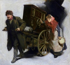 The Organ Grinder, Collier's Magazine, April 25th, 1905
