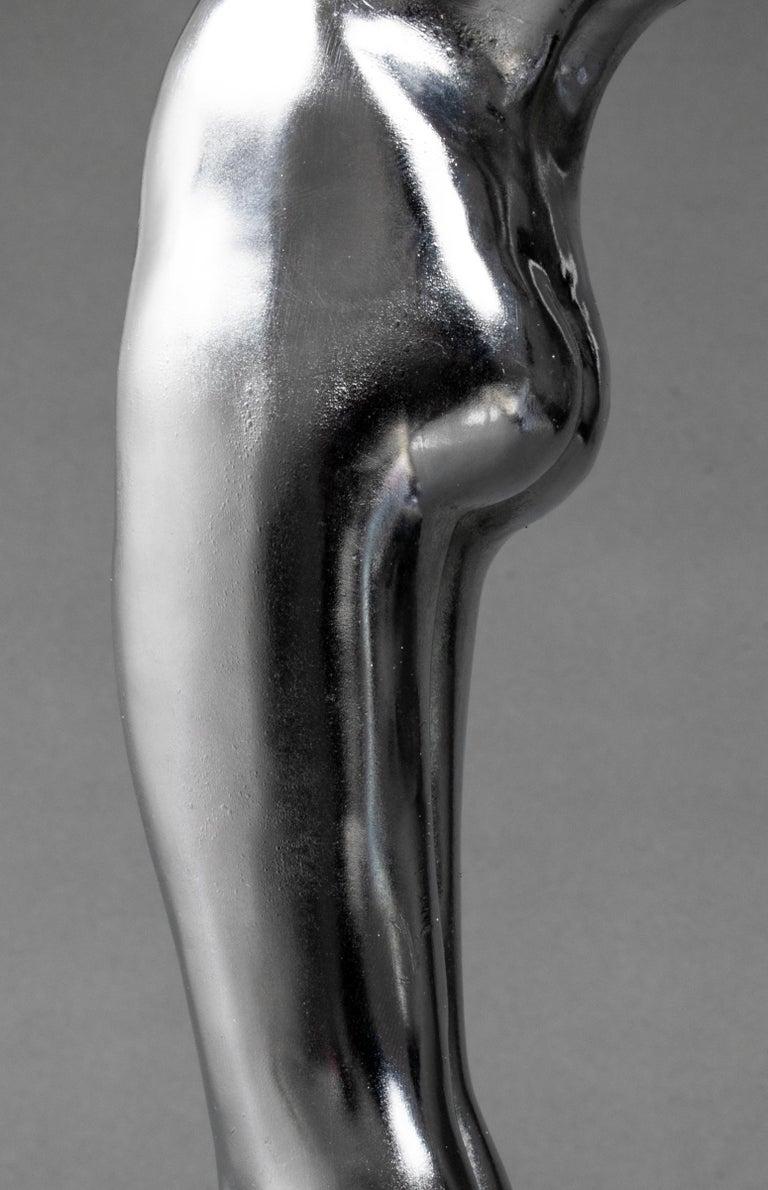 Frankart Art Deco Cast Metal Figural Card Holder Stand For Sale 3