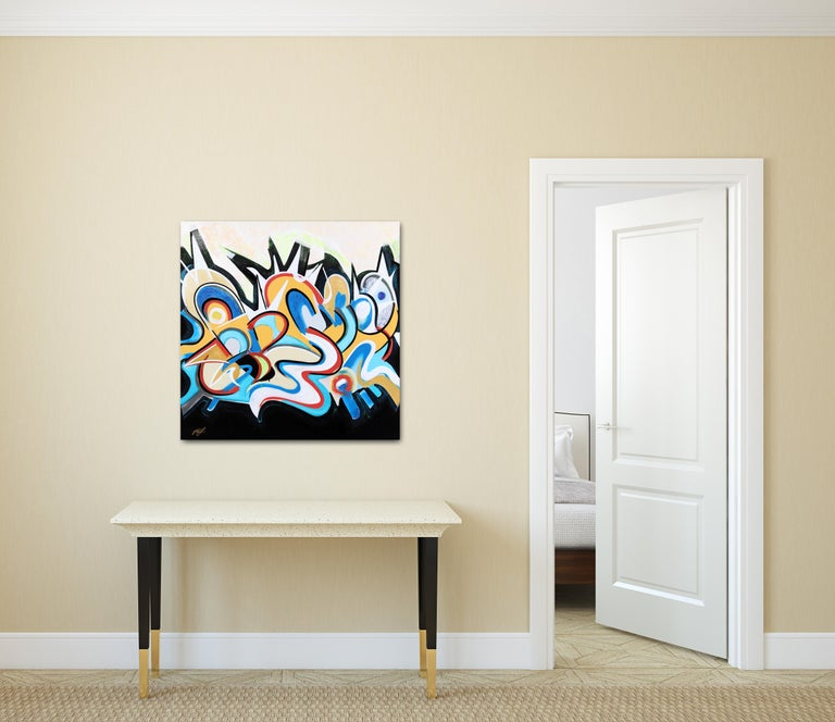 Event Horizon - Painting by Frankie Alfonso