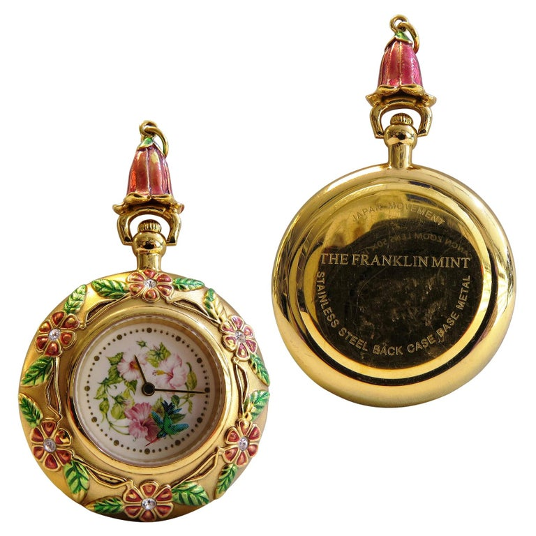 Franklin Mint Pocket Watch For Sale