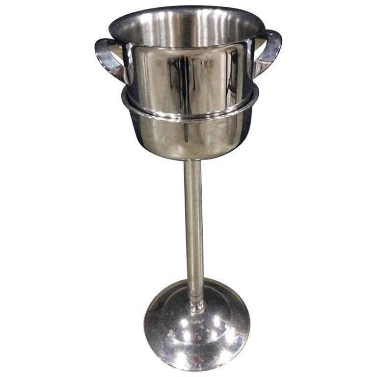 Franmara Champagne Ice Bucket On Stand For Sale