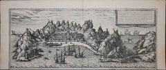 """Aden, Map from """"Civitates Orbis Terrarum"""" - by F. Hogenberg - 1575"""