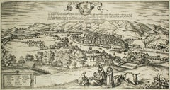 "Bilbao, Antique Map from ""Civitates Orbis Terrarum"" - by F.Hogenberg - 1572-1617"