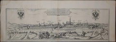 "Vienna, Antique Map from ""Civitates Orbis Terrarum"" - Etching - Old Master"
