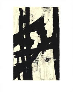 "Franz Kline-New York, NY-20"" x 16""-Serigraph-1991-Abstract-Black & White"