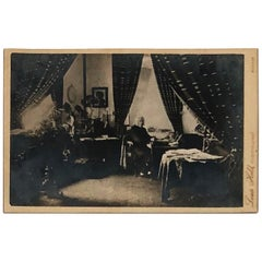 Franz Liszt at His Studio Office