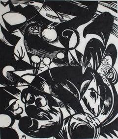 Creation I  Schöpfungsgeschichte I - German Expressionism