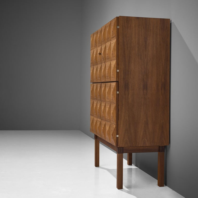 Mid-20th Century Franz Meyer Highboard in Rosewood For Sale