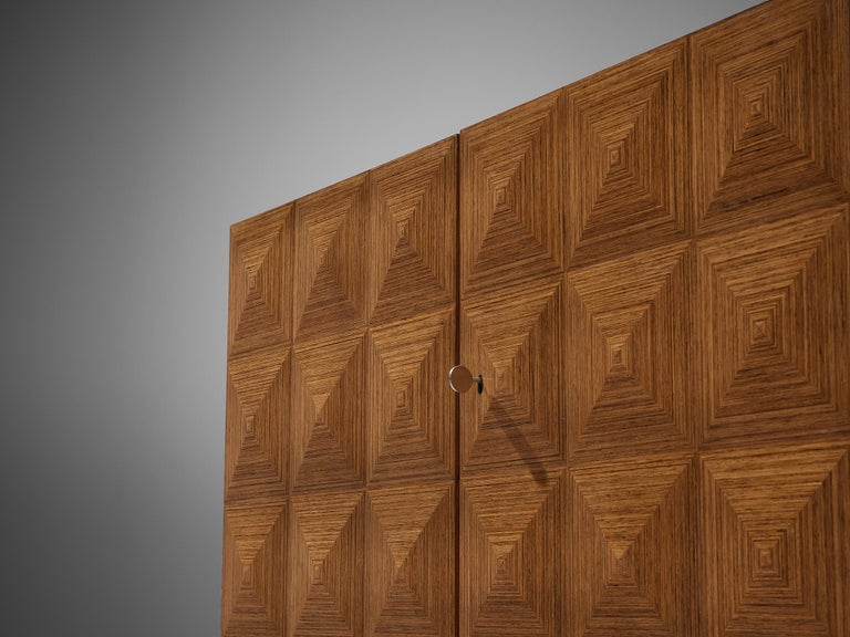 Franz Meyer Highboard in Rosewood For Sale 1